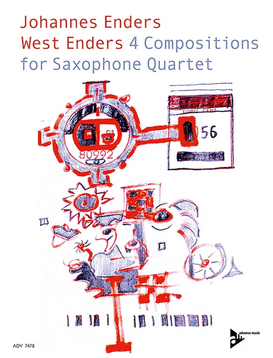West Enders: 4 Compositions for Saxophone Quartet
