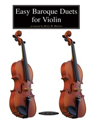 Easy Baroque Duets for Violin