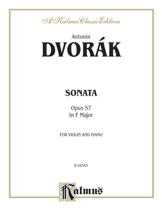 Sonata in F Major, Opus 57