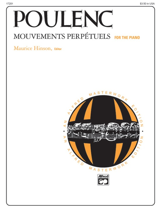 Poulenc: Mouvements perpétuels