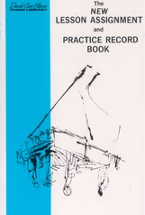 The New Lesson Assignment and Practice Record Book