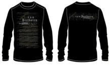 Beethoven Sonate No. 14 T-Shirt (Extra Large)