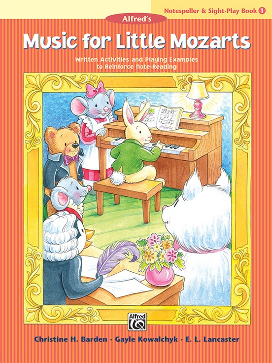 Music for Little Mozarts: Notespeller & Sight-Play Book 1