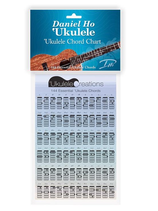Daniel Ho Ukulele Ukulele Chord Chart Ukulele Chart