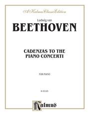 Cadenzas to the Piano Concerti