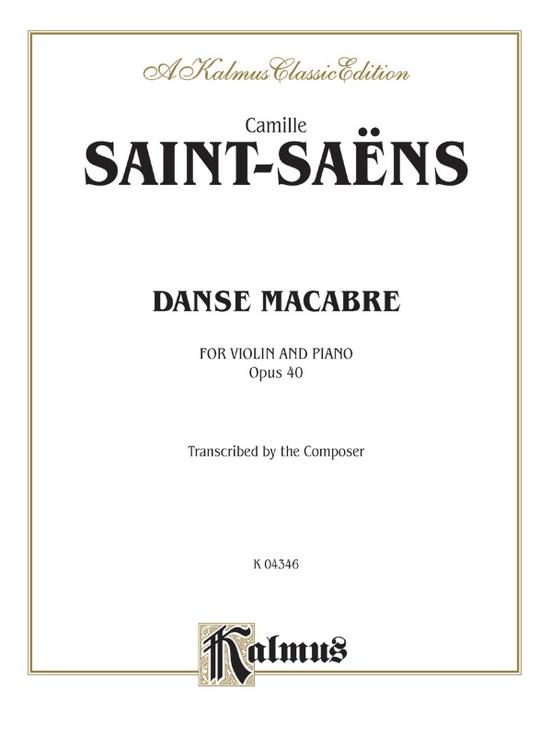 Danse Macabre, Opus 40