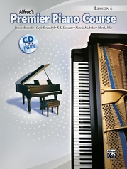 Premier Piano Course, Lesson 6