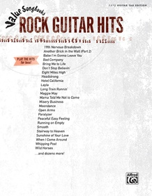 Value Songbooks: Rock Guitar Hits