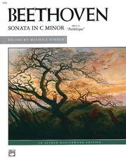 """Sonata in C Minor, Opus 13 (""""Pathétique"""")"""