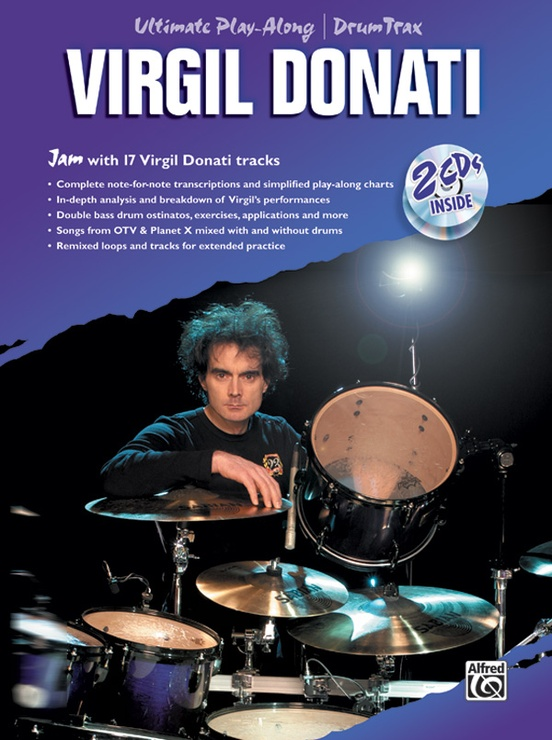 Ultimate Play-Along Drum Trax: Virgil Donati