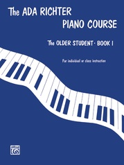 Ada Richter Piano Course: The Older Student, Book 1
