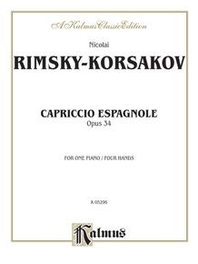 Capriccio Espagnole Piano Duet