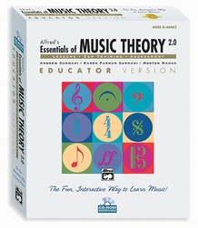 Alfred's Essentials of Music Theory: Software, Version 2.0 CD-ROM Educator Version, Volume 1