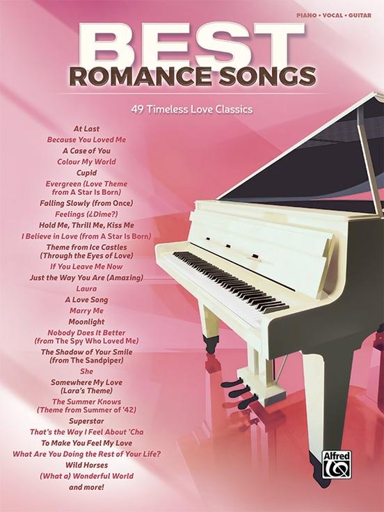 Best romance songs pianovocalguitar book best romance songs fandeluxe Images