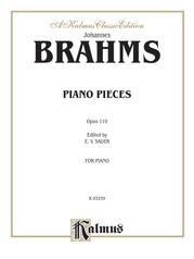 Intermezzi, Rhapsody, Opus 119