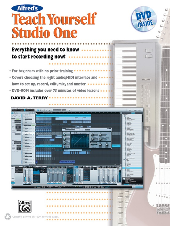 Alfred's Teach Yourself Studio One, Version 1.6