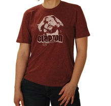 Eric Clapton: Melodic Red T-Shirt (Extra Large)