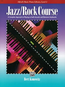 Alfred's Basic Jazz/Rock Course: Lesson Book, Level 2