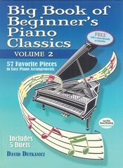 Big Book of Beginner's Piano Classics, Volume 2