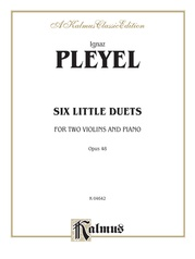 Six Little Duets, Opus 48