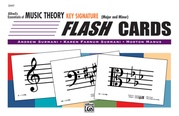 Alfred's Essentials of Music Theory: Flash Cards -- Key Signature