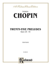 Twenty-Five Preludes, Opus 28-45