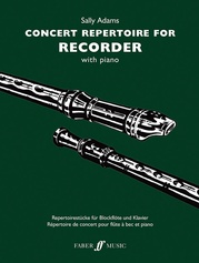 Concert Repertoire for Descant Recorder