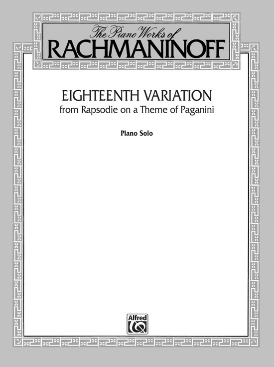 Eighteenth Variation (from Rhapsodie on a Theme of Paganini)