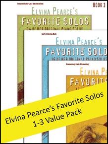 Elvina Pearce's Favorite Solos 1-3 (Value Pack)