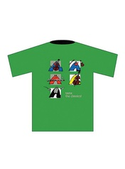 Taste the Classics! T-Shirt: Green (Large)