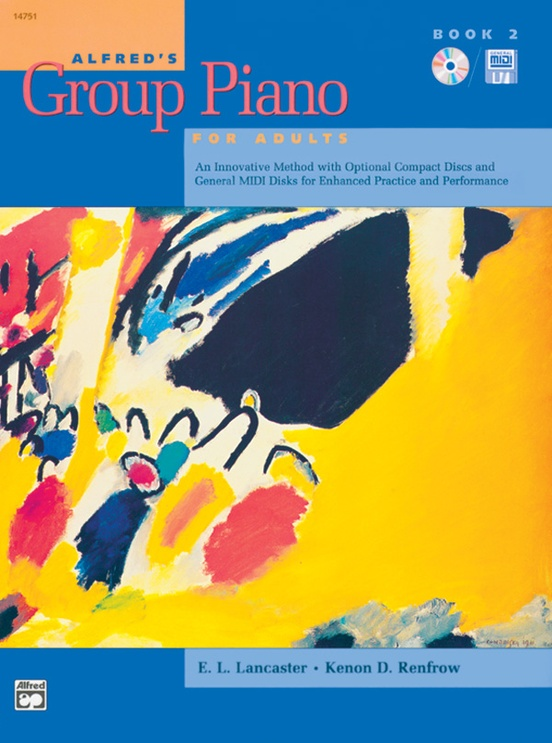 Alfred's Group Piano for Adults: Student Book 2