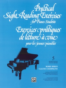 Practical Sight Reading Exercises for Piano Students, Book 5