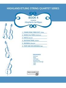 Highland/Etling String Quartet Series: Book 4