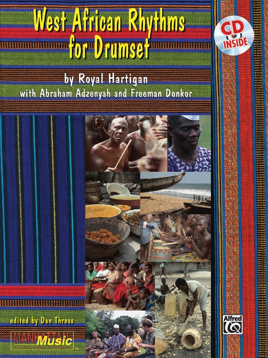 West-African Rhythms for Drumset