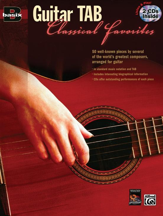 Basix® Guitar TAB Classical Favorites