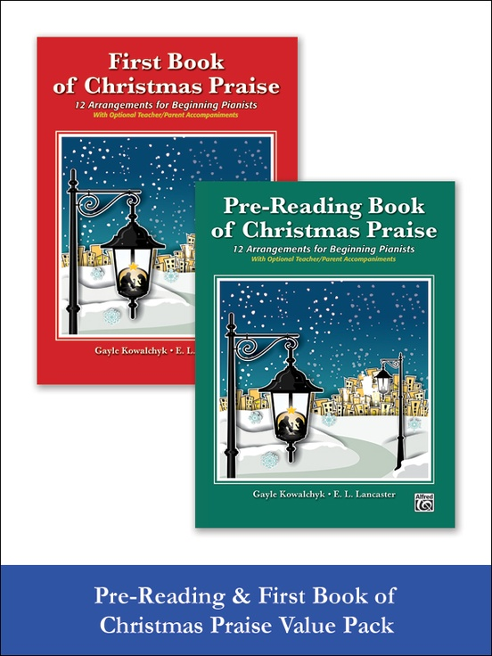 Pre-Reading & First Book of Christmas Praise (Value Pack)