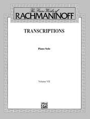 The Piano Works of Rachmaninoff, Volume VII: Transcriptions