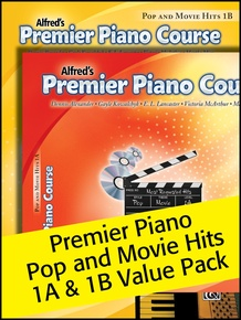 Premier Piano Course, Pop and Movie Hits 1A & 1B (Value Pack)