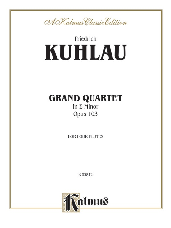 Grand Quartet in E Minor, Opus 103