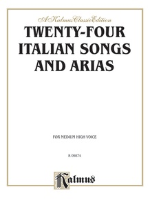 Twenty-four Italian Songs and Arias