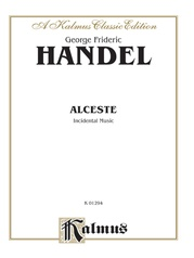 Alceste, Incidental Music (1750)