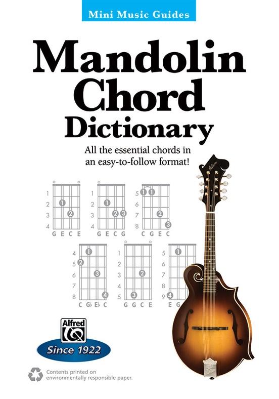 Mini Music Guides Mandolin Chord Dictionary Mandolin Book