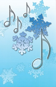 Schaum Recital Programs (Blank) #71: Snowflakes and Notes