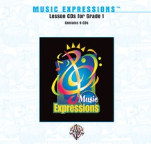 Music Expressions™ Grade 1: Lesson CDs