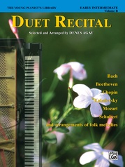 The Young Pianist's Library: Duet Recital Book, Book 6B