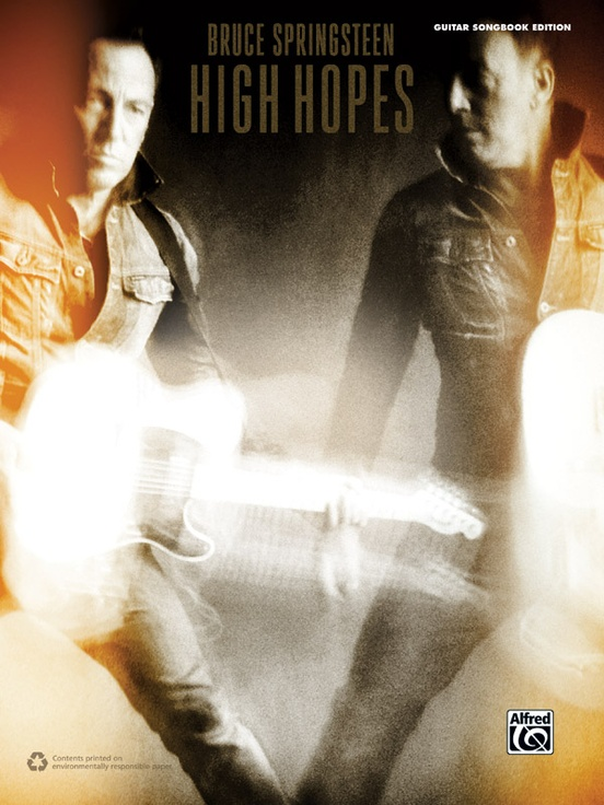 Bruce Springsteen: High Hopes: Guitar Songbook Edition Book: Bruce ...