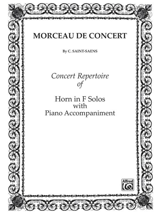 Morceau de Concert