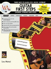 Guitar First Steps: Chords, Strums, and Licks