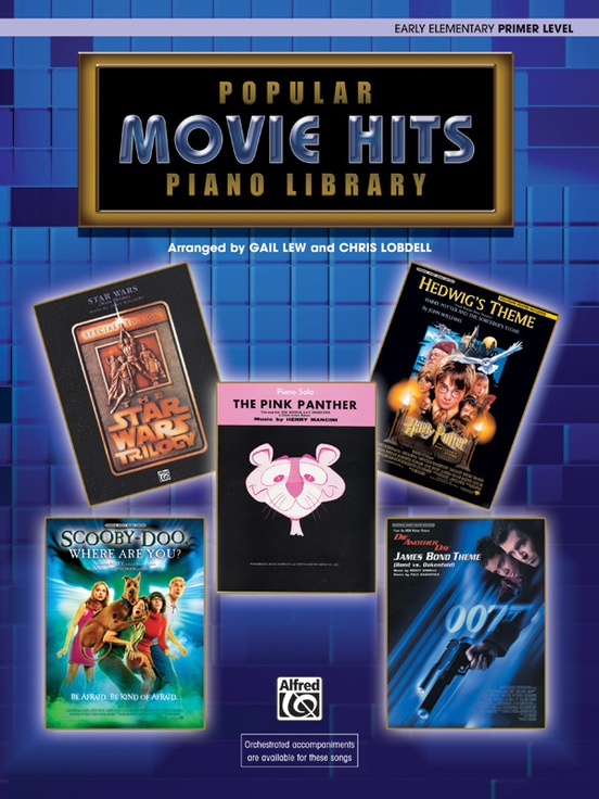 Popular Piano Library: Movie Hits, Primer Level
