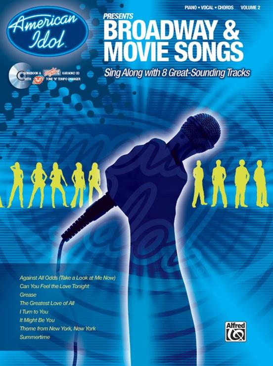American Idol® Presents: Volume 2, Broadway & Movie Songs